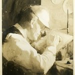 Portrait of Timothy Cole at Work