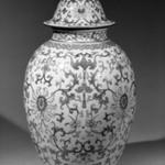 Large Vase and Cover