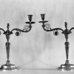 Pair of Sheffield Candlesticks