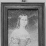 Miniature of a young woman