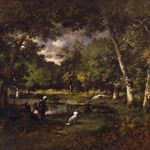 The Pond at Fontainebleau (La Mare Fontainebleau)