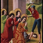 Martyrdom of Saints Cosmas and Damian with their Three Brothers, part of an altarpiece