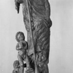 St. Michael Slaying the Devil who Holds Two Children in his Grasp