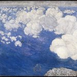 Clouds over the Black Sea--Crimea