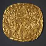 Plaque with Crocodile Deity