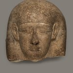 Head from the Cover of a Sarcophagus