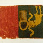 Textile Fragment with Skeletal Figure