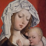 Madonna Nursing the Christ Child