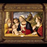 Holy Family with Saints John the Baptist and Catherine of Alexandria
