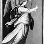 Angel Annunciate; Virgin Annunciate