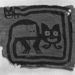 Textile Fragment, undetermined possible Border