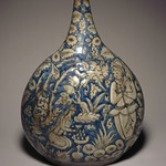 Bottle Depicting a Hunting Scene