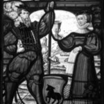 Man and Woman with Uncovered Chalice