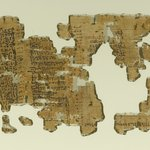Historical Papyrus in Five Pieces