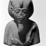 Head of a Shabti of King Akhenaten