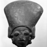 Head with Elongated Headdress