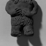Molded Figurine, Torso Wearing Collar