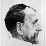 Portrait of Ernest Kreidolf in Profile (Bildnis Ernest Kreidolf im Profil)