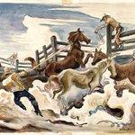 Lassoing Horses