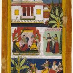 Belavala Ragini, Page from a Dispersed Ragamala Series