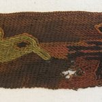 Textile Fragment, Unascertainable, Border or Textile Fragment, Undetermined