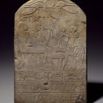 Stela of User-pekhty-nisu and his wife, Pa-netjer
