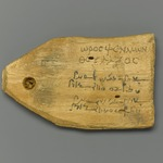 Tag for Mummy of a Stonecutter, with Text in Greek and Demotic