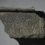 Fragment of Inscribed Door Lintel
