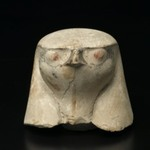 Hawk-Headed Cover of Canopic Jar