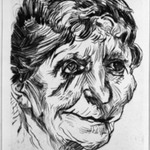 Portrait of an Old Woman (Portr&auml;t einer Greisin)