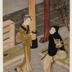 The artist and O-sen