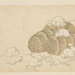 E-Goyomi (Rats and Rice Bales)