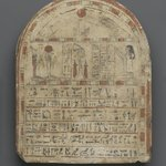 Grave Stela of Nehemes-Ra-tawy