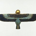 Amulet in the Form of a Ba as Human-Headed Bird
