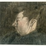 Portrait of a Pregnant Woman (Bildnis Einer Schwangeren Frau)