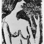 Half-Length Nude with Flower (Halbakt mit Blüte)