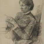 Portrait of Madame la Comtesse Ad&egrave;le de Toulouse-Lautrec