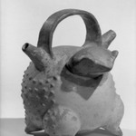 Frog-shaped Vessel