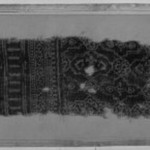 Egypto-Arabic Textile, Fragment of Hanging? found in Egypt