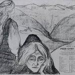 """Drawing for """"Peer Gynt"""" (Zeichnung zu """"Peer Gynt"""")"""