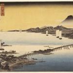 Evening Glow at Sea (Seta no Sekisho), from Eight Views of the Province Omi (Omi Hakkei)