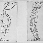 Dancer - Two Studies in Lines