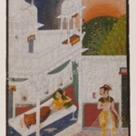 Lalita Ragini, Page from a dispersed Ragamala Series