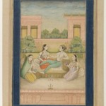 A Prince and his Consort on a Terrace