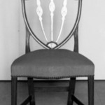 Pair of Hepplewhite Shield Back Side Chairs