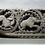 Frieze of Animals in Plant Scrolls