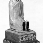 Carved Figure Representing St. Lazarus