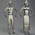 Two Figurines, Male and Female