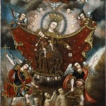 Virgin of Carmel Saving Souls in Purgatory