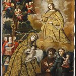 The Virgin of Mercy with Three Saints